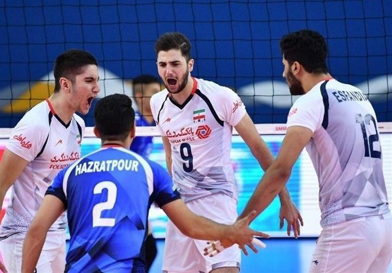ایران کی جونیئر والی بال ٹیم ایشیائی چیمپئن