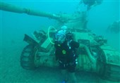 Lebanon Dumps Armored Vehicles into Mediterranean to Create New Habitats for Marine Life