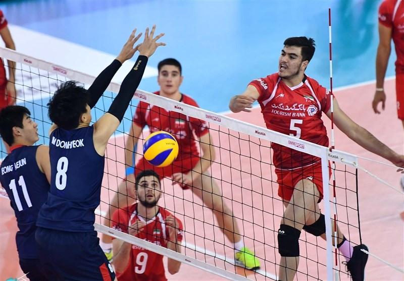 والیبال جوانان جهان| پیروزی ایران مقابل قهرمان آفریقا