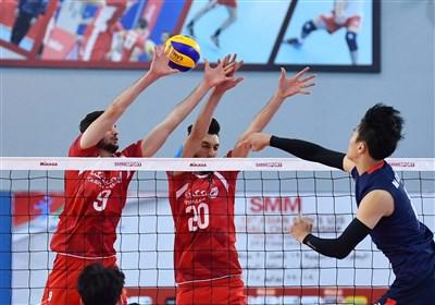 Iran B Beats Chinese Taipei in AVC Cup Semis