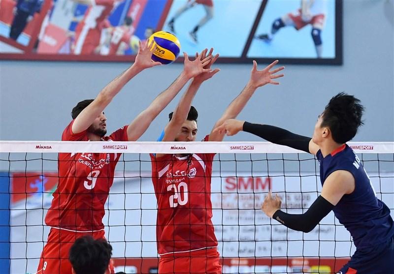جام کنفدراسیون والیبال آسیا ایران با عبور از استرالیا صدرنشین شد