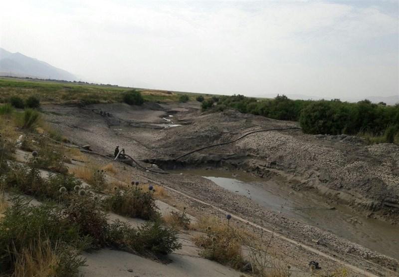 """نابودی """"شازده"""" رودخانه مازندران در سایه بی تدبیری مسئولان+فیلم"""