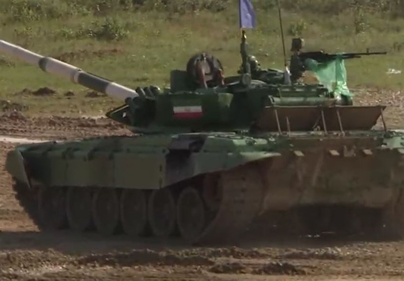 Iran Takes Part at Battle of Tanks Competition in Moscow (+Video)