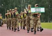 تیمهای نیروهای مسلح ایران در مسابقات نظامی روسیه + عکس