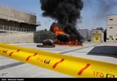 فیلم و تصاویر/ تمرینات نفسگیر آتشنشانان در مرکز آموزش آتشنشانی پایتخت