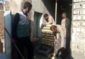 تلاشی از جنس خدمت؛ لبخند رضایت محرومان استان فارس از حضور گروههای جهادی