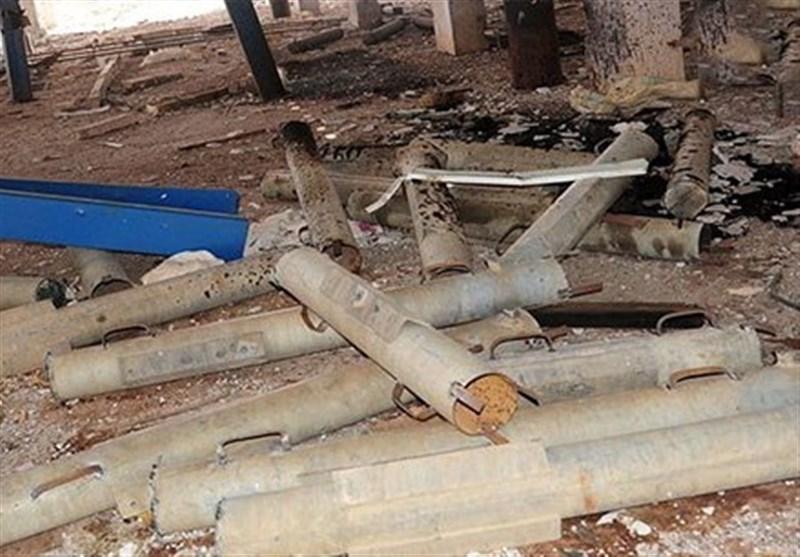 شام میں امریکی ساختہ ٹو (tow) میزائل اور اسرائیلی اشیائے خوردنی کی وافر مقدار برآمد