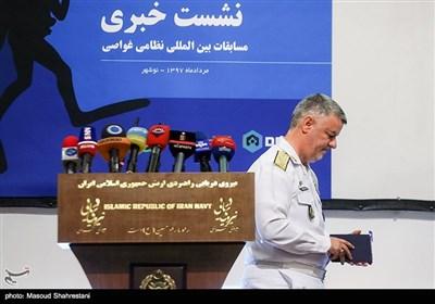 دریادار حسین خانزادی فرمانده نیروی دریایی ارتش