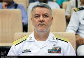 دریادار خانزادی از منطقه یکم نیروی دریایی ارتش بازدید کرد