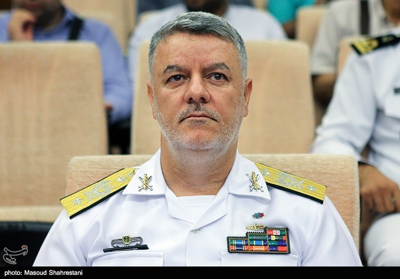 Iran Navy Commander Meets Japanese, Pakistani Military Attachés