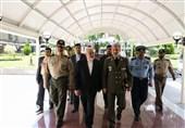 ظریف از دستاوردهای صنعت دفاعی کشور بازدید کرد