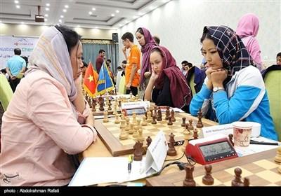 ایران کے شہر ہمدان میں ایشائی شطرنج مقابلوں کی تصاویر
