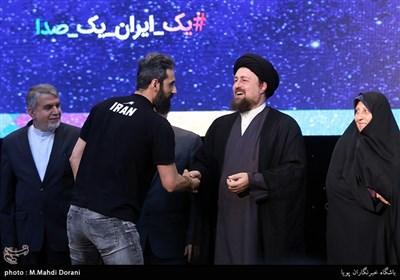 Iran's Asian Games Squad Attends Ceremony in Tehran