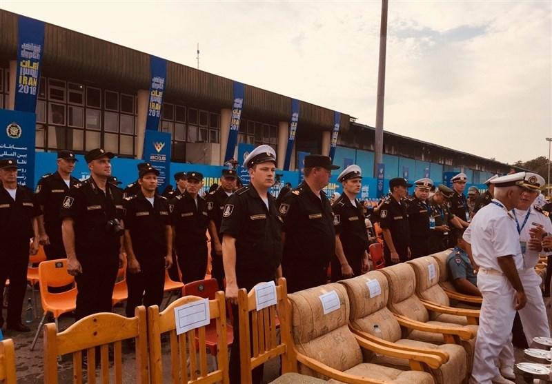 رقابتهای غواصی نظامی 2018 در بندر نوشهر آغاز شد