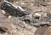 یمن| گلولهباران مواضع نظامیان سعودی در جیزان؛ انهدام خودرو مزدوران در نجران