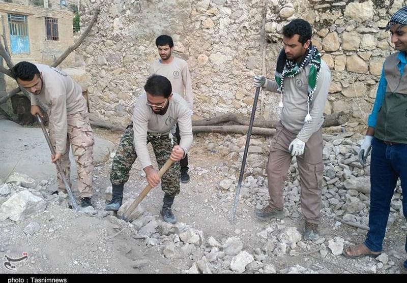 اردوی جهادی دانشجویان دانشگاه پیام نور دهدشت در مناطق محروم