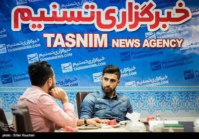 حضور علیرضا جهانبخش در خبرگزاری تسنیم