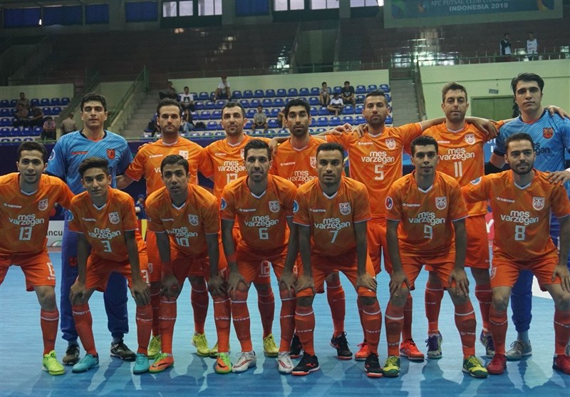Iran's Mes Books AFC Futsal Club Championship Final Berth