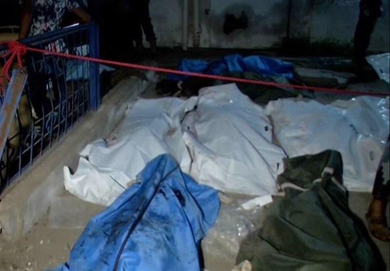 55 شهید و 130 زخمی در حمله جنگندههای سعودی و اماراتی به بیمارستانی در یمن + عکس
