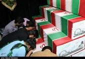 وداع مردم تهران با پیکر 110 شهید دوران دفاع مقدس