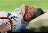 حبیبزاده تحت عمل جراحی قرار گرفت/ فک بازیکن ذوبآهن از چهار ناحیه شکسته است