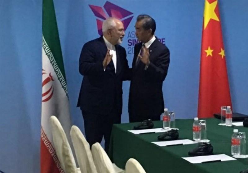ظریف: نقش چین در حفظ برجام محوری خواهد بود