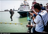 Iranian Divers Set Records in Int'l Army Games