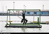 رکورد شکنی غواصان ارتش در مسابقات نظامی 2018 + عکس و فیلم