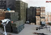 Syria Army Finds Terrorists' Weapons, Israeli-Made Food in Quneitra