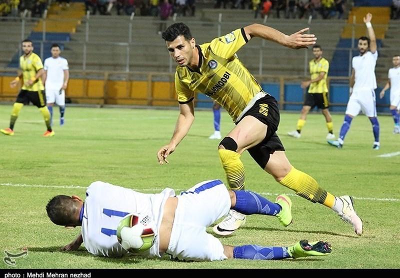 لیگ برتر فوتبال| تساوی یک نیمهای نفت مسجدسلیمان و پارس جنوبی