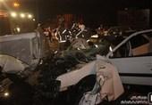 اراک| تصادف خونین در محور خمین ـ محلات؛ 4 نفر کشته و زخمی شدند
