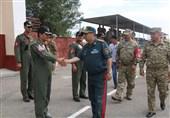 حضور وزیر دفاع قزاقستان در جمع تیم پهپاد ارتش + تصاویر
