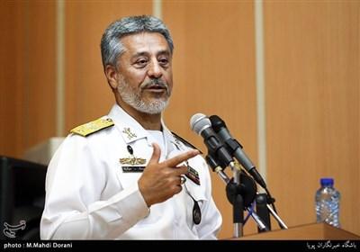 سخنرانی امیر دریادار حبیبالله سیاری معاون هماهنگ کننده ارتش
