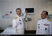 امیر سیاری: نیروی دریایی ارتش تلاشهای گستردهای در جزایر خلیجفارس انجام داد