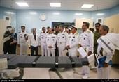 افتتاح فاز جدید بیمارستان گلستان نیروی دریایی ارتش با حضور امیر سیاری