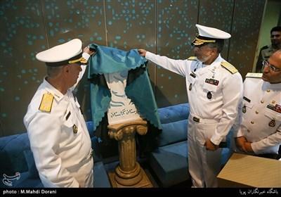 افتتاح فاز جدید بیمارستان گلستان نیروی دریایی ارتش با حضور دریادار حبیبالله سیاری معاون هماهنگ کننده ارتش