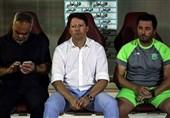 خوزستان| سرجیو: بازگشتمان به بازی کار آسانی نبود/ خوششانس نبودیم که به گل برتری برسیم