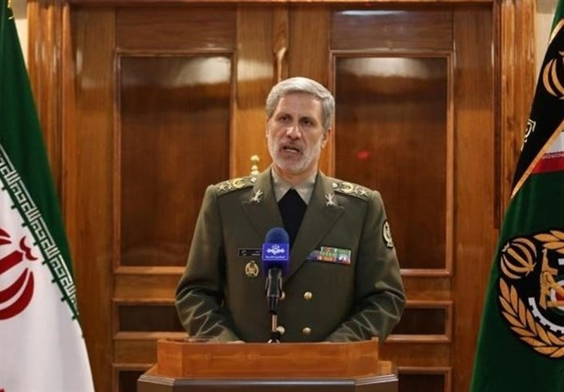 Defense Minister: Iran, China Concerned about US Role in SE, West Asia