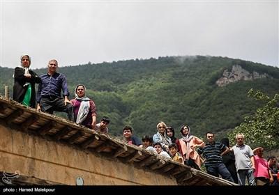 مسابقات پارکور در روستای تاریخی ماسوله