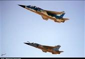 اورهال جنگندههای میراژ و اف-5 در پایگاه هوایی مشهد