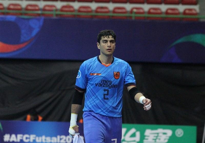 علیرضا صمیمی نامزد کسب عنوان بهترین دروازهبان سال 2018 فوتسال جهان شد