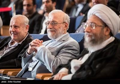 محمد جواد لاریجانی دبیر ستاد حقوق بشر در مراسم بزرگداشت روز حقوق بشر اسلامی و کرامت انسانی