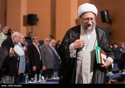 آیتالله آملی لاریجانی رئیس قوه قضاییه در مراسم بزرگداشت روز حقوق بشر اسلامی و کرامت انسانی