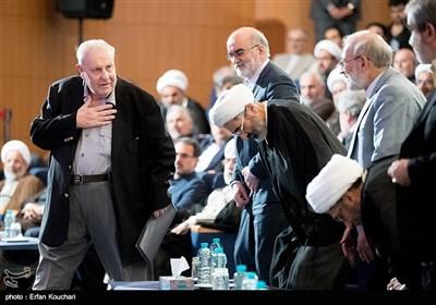 صلاح زواوی سفیر فلسطین در ایران در مراسم بزرگداشت روز حقوق بشر اسلامی و کرامت انسانی