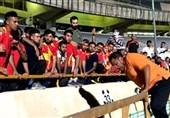 وضعیت لیدر فولاد خوزستان بعد از حادثه ورزشگاه آزادی