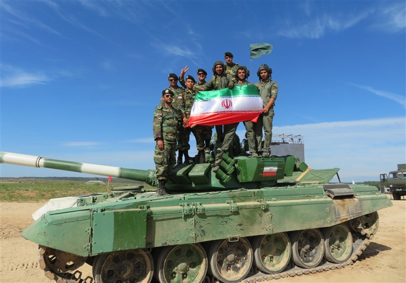 Iranian Tank Crewmen Advance to Semi-Final Round at Army Games