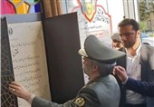 کارخانجات تولید و مونتاژ مهمات کالیبر متوسط با حضور وزیردفاع افتتاح شد