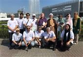 حضور جانبازان و هنرمندان ایرانی در مراسم هفتاد و چهارمین سالگرد بمباران هیروشیما+ عکس