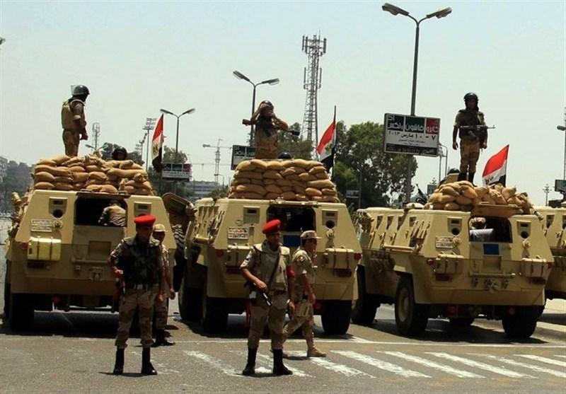 عملیات ارتش مصر علیه افراد مسلح در سیناء