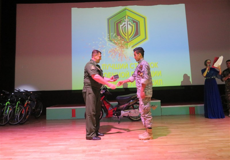 """تیم ناجا جایزه ویژه تیراندازی """"رقابتهای حافظان نظم ارتشهای جهان"""" را کسب کرد"""